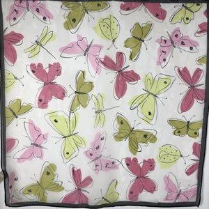 Echo Silk Scarf Chiffon Butterflies Small Purse